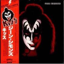 Kiss - Gene Simmons - Mini Vinil Japonês - Lacrado