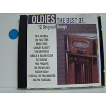Cd - Oldies The Best Of... 12 Original Songs - Coletanea