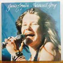 Lp Janis Joplin - Farewell Song Importado Novo
