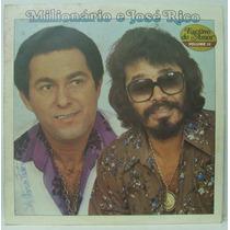 Lp Milionário E José Rico - Vol 11 - Escravo Do Amor - 1981