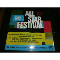 Lp All Star Festival, Louis Armstrong, Nat King Cole, Vinil