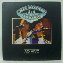 Lp Chitãozinho E Xororó - Ao Vivo - 1992 - Philips