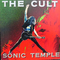 Lp The Cult - Sonic Temple - Vinil Raro