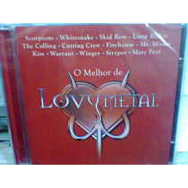 Cd O Melhor De Love Metal @ Diversos -lacrado- Frete Grátis