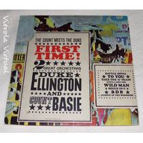 Lp Duke Ellington Orchestra/ Count Basie Orchestra 1979 Cbs