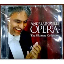 Cd Andrea Bocelli Opera Ultimate Collection Produto Lacrado