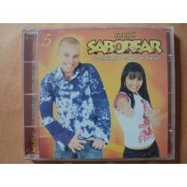 Forró Saborear- Cd Volume 5- 2005- Original- Zerado!
