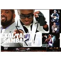 Dvd Exalta Samba 25 Anos Ao Vivo 2011 Somlivre