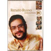 Dvd Renato Russo - Entrevistas Mtv - Novo***