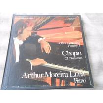 Arthur Moreira Lima Chopin Obra Completa Vol 1 Autografado