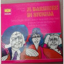 Lp Triplo Exc Rossini Il Barbiere Di Seviglia Livreto 1961
