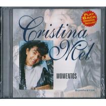 Cd Cristina Mel - Momentos [bônus Playback]
