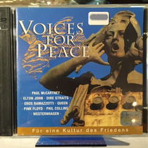 Cd Voices For Peace 2cd Paul Mccartney Pink Floyd Queen