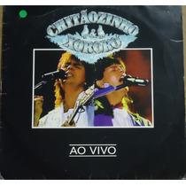 Lp (028) Sertanejo - Chitãozinho & Xororó Ao Vivo