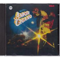 Cd Novela Amor Cigano 1983 Sbt - Série Colecionador