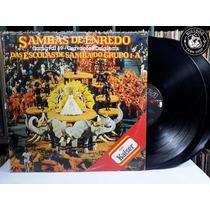 Lp Sambas De Enredo Carnaval 89 Encarte - Veja O Video - Ef