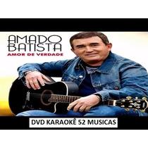 Coletânea 7 Dvds Karaokê Amado Batista, R.carlos, Ivete,zeze