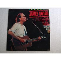 James Taylor - Live In Rio - Lp, Edição 1986