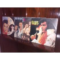 Lps Elvis Presley Combo (9 Discos) - Lote T
