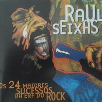 Cd Raul Seixas Os 24 Maiores Sucessos Da Era Do Rock