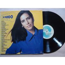O Dono Do Mundo- Lp- Trilha Sonora Nacional- 1991- Original!