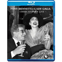 Blu-ray Lady Gaga E Tony Bennett - Cheek To Cheek Artpop