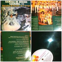 Lp Samba De Enredo Carnaval 82 Samba Raiz Antigo Mt Bom