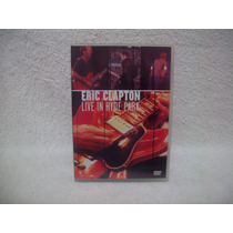 Dvd Original Eric Clapton- Live In Hyde Park