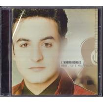 Cd Leandro Borges - Deus, Eu E Meu Violão * Original