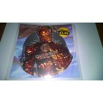 Cd Single Iron Maiden The Wicker Man Clear Cd Raro