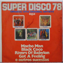 Lp Super Disco 78 - Original Hits - 1978 - Rca Victor