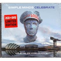Cd 2 + 1 Dvd Simple Minds - Celebrate - Novo***