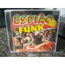 Cd Espião Shock De Monstro-a Maior Festa Funk Do Brasil*novo