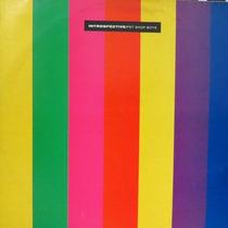 Vinil Lp Pet Shop Boys Introspective Pop Remixes1988 Encarte