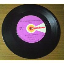 Compacto Angela Maria 1973 Atrás Da Porta Vinil Disco Ep