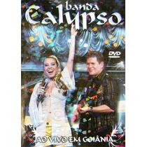 Dvd Banda Calypso Ao Vivo Em Goiania Original + Frete Grátis