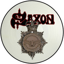 Saxon - Strong Arm Of The Law - Lp 12 (picture)