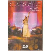 Dvd Cassiane - 25 Anos De Muito Louvor - Novo***