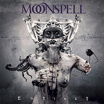 Cd/dvd Moonspell Extinct (deluxe) =import= Novo Lacrado