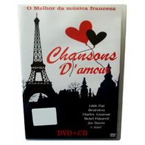 Dvd + Cd Melhor Da Franca = 28 Sucessos Da Musica Francesa!