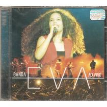 Cd Banda Eva - Ao Vivo 2 -vocal Emanuelle Araujo