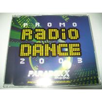 Cd Promo Radio Dance 2003 - Paradoxx Music** Igual Novo