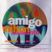 Cd Lacrado Milton Nascimento Amigo Orquestra Jazz Sinfonica