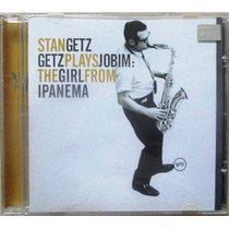 A9699 Cd Stangetz Plays Jobim The Girl From Ipanema
