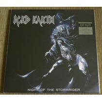 Iced Earth Night Of The Stormrider Lp Metallica Iron Maiden