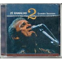 Cd - Zé Ramalho - Grandes Sucessos - Volume 2