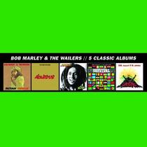 Bob Marley & The Wailers 5 Classicos Albums