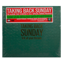Cd+dvd Taking Back Sunday Tell All Your Friends - Usa