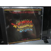 Paco De Lucia, Al Di Meola, John Mclaughlin, Cd Friday Night