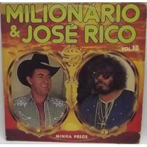 Lp Sertanejo: Milionário José Rico Minha Prece Frete Grátis